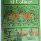 The Rover Boys at College Arthur M. Winfield