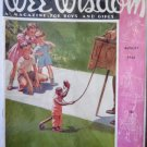 Wee Wisdom Magazine for Boys and Girls Aug 1944