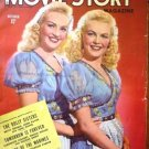 Movie Story Magazine October 1945 Dolly Sisters