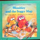 Wembley and the Soggy Map - Fraggle Rock Book Vintage Book