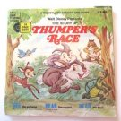 Disney's Thumper's Race Book Only Record Missing