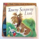 Little Golden Book & Record Tawny Scrawny Lion