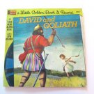 Little Golden Book & Record David and Goliath