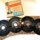 Fred Waring Pleasure Time 45 rpm Record Set
