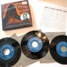 Radio City Recital with Dick Leibert 45 rpm Record Set