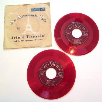 An American In Paris Set 45 Rpm Record