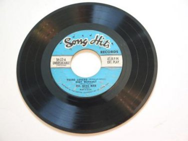 Song Hits Puff Young Lovers Mr. Bass Man 45 rpm Record