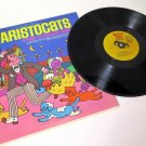 Happy Times Aristocats Record 33 1/3 RPM Vintage