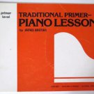 Traditional Primer – Piano Lessons