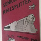 1945 Des Moines Lincoln High Railsplitter Yearbook