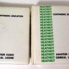 Heathkit Amateur Radio General License Continuing Education 2 Vol