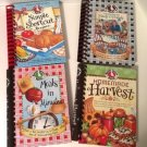 Gooseberry Patch Spiral Bound Cookbooks Set of 4