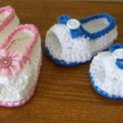 Peek-A-Boo Open Toe Shoes Sandals For Baby in Cotton