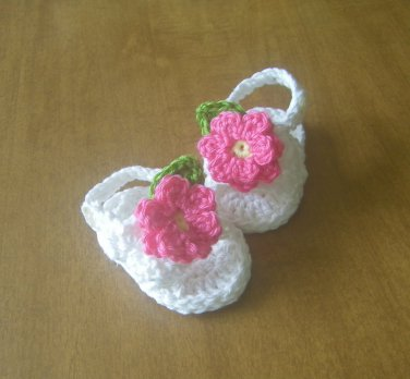 Baby Sandals Crochet Cotton Baby Shoes Sandals For Baby Cotton Crochet Summer Sandals