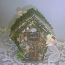 HANDMADE FAIRY HOUSE HANDCRAFTED FAIRY HOUSE Stone Moss FAIRY HOUSE Yard Decor