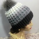 Winter Hat Beanie Women/Teens Outdoor Sportswear Winter Beanie Handmade Crocheted