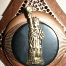 #NE418 - Statue of Liberty Necklace and Earring Set
