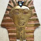 #P001 - Hand cut One of a Kind King Tut Pin