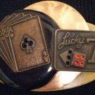 #P015 - Lucky Seven Gamblers Pin