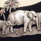 #P018 - Elephant Family of Three Pin