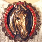 #P032 - Winners Circle Horse Pin
