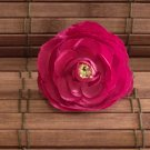 Burgundy Small Ranunculus Pin