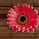 Red Gerbera Daisy Hair Elastic