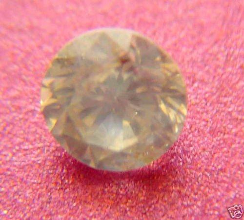 STRONGFIRING-CHAMPANGE DIAMOND,0.92CTWSIZE- -6.2MM-1PCS