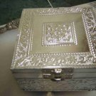 GERMANSILVERJEWELCASE,HANDCRAFTED,ANTIQUE DESIGN ,ROYAL
