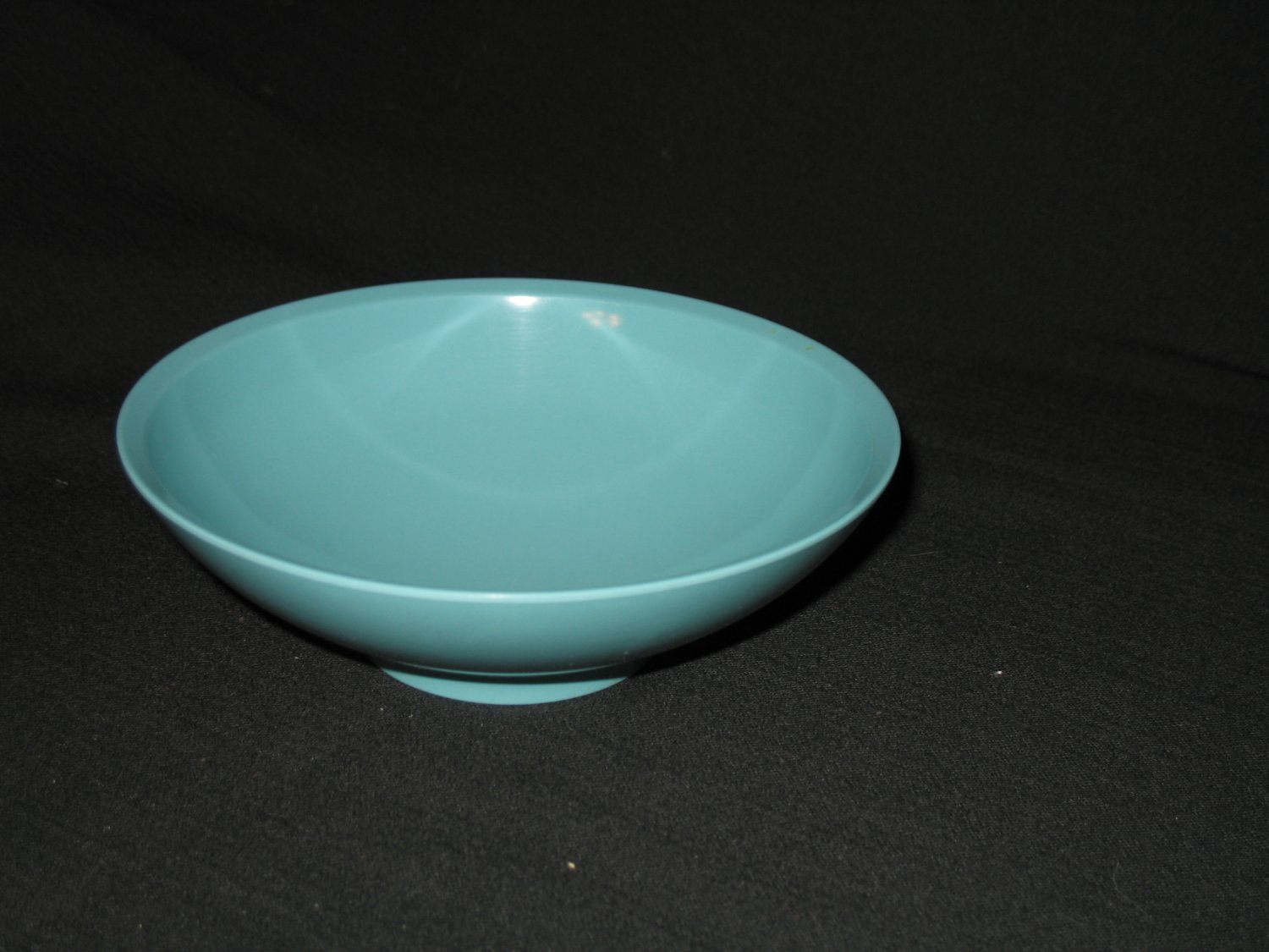 "Boonton Ware 6 1/2"" Bowl Turquoise"