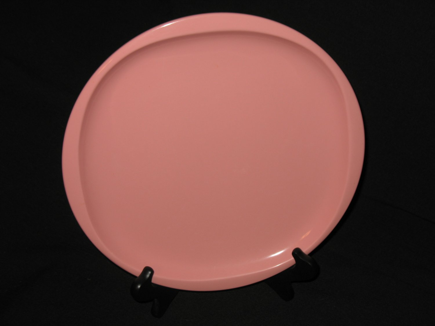 """Boonton Ware 10"""" Dinner Plate Pink"""