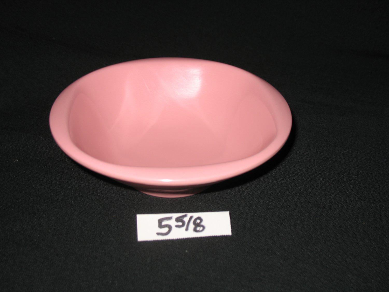 """Boonton Ware  5 5/8""""  Bowl Pink"""