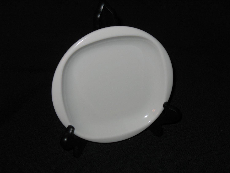 """Boonton Ware  6 1/2 """"  Bread Plate White"""