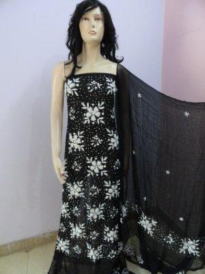 PAKAPPAREL : Hand Made Unstitched Salwar Shalwar Kameez C10-156-5
