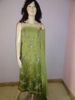 PAKAPPAREL : Hand Made Unstitched Salwar Shalwar Kameez C10-89-5
