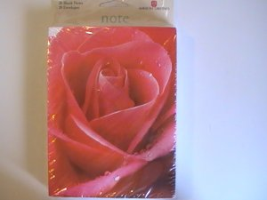 American Greetings Beautiful Rose Blank Note Cards