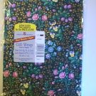 American Greetings Flowery Gift Wrapping Paper