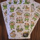 American Greetings Saint Patricks Day Stickers (4 Sheets)