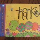 American Greetings Caterpillar Thank You Note Cards