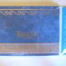American Greetings Scroll Thank You Note Cards
