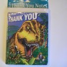 Days of  Dinosaur Thank You Note Cards