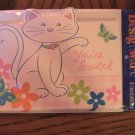 American Greetings Cute Kitty Party Invitation Cards