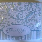 American Greetings Fancy Scroll Thank You Note Cards