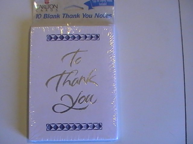 Carlton Cards To Thank You Note Cards