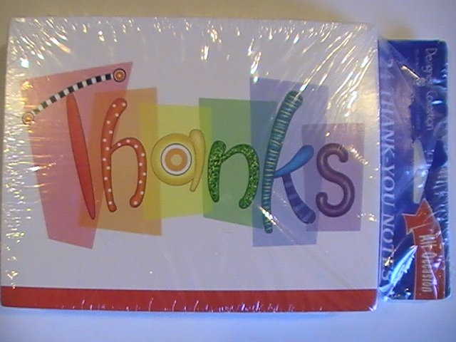 American Greetings Thanks Thank You Note Cards