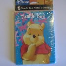 Disney Winnie-The-Pooh Thank You Note Cards