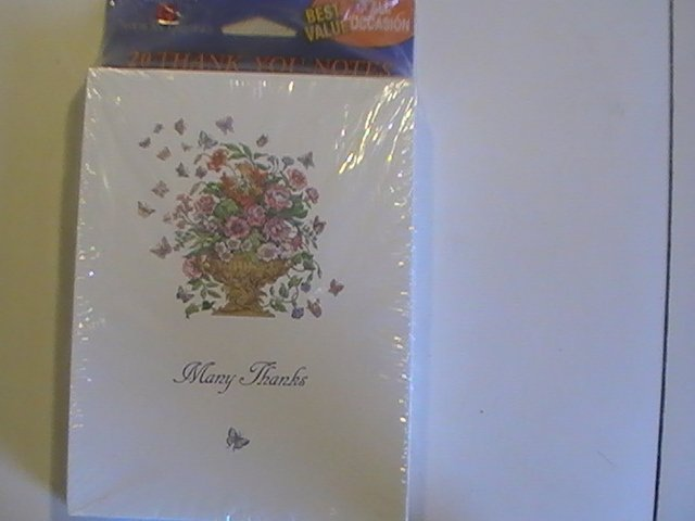 American Greetings Many Thanks Thank You Note Cards