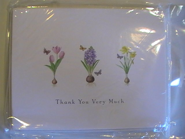 Carlton Cards Thank You Very Much Note Cards