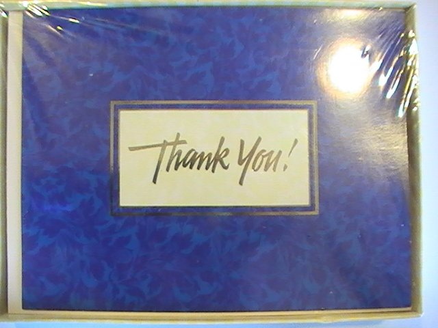 Amer. Greetings Designers Collection Thank You Cards