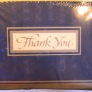 American Greetings Classy Blue Thank  You Note Cards